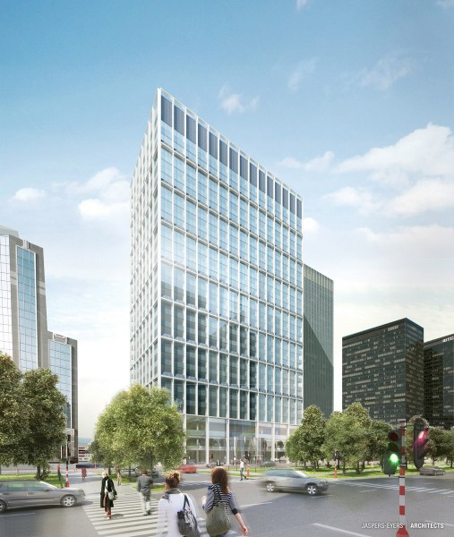 WTC IV, Bruxelles : Bâtiment exemplaire 2012© Jaspers-Eyers